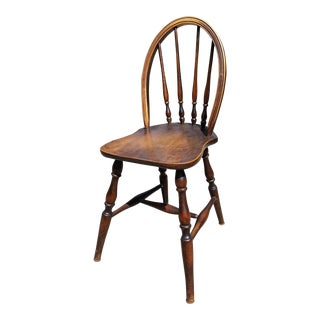 Antique Children's Williamsburg Style Bentwood Spindle Back Chair