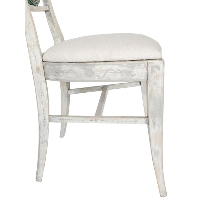 Set of Four Gustavian Style Chairs For Sale In New York - Image 6 of 10