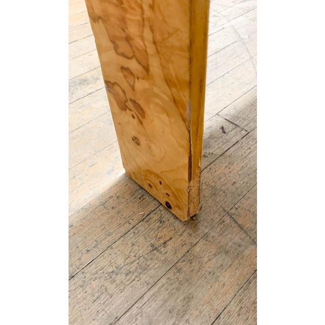 Mid Century Burl Wood Baughman Parsons Console Table For Sale - Image 9 of 9