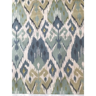 Vervain La Goulet Lagoon Fabric - 3 Yards For Sale