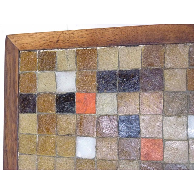 Mid Century Mosaic Tile Side Table - Image 7 of 7