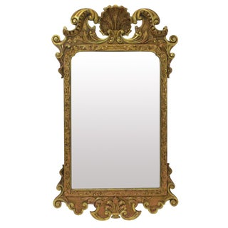 A George III Gilt Wood Mirror For Sale