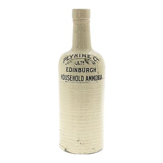 Antique English Laundry Ammonia Bottle For Sale