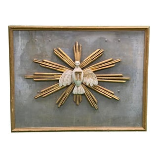 Descending Dove Cathedral Panel From Italy For Sale