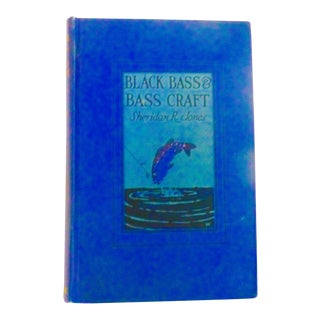 1924 Vintage Black Bass & Bass Craft Book For Sale