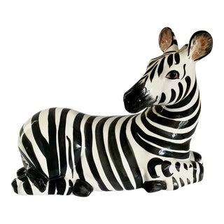 Mid Century Italian Zebra For Sale