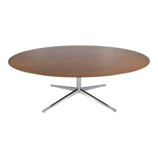 1970s Mid-Century Modern Florence Knoll Teak Table For Sale