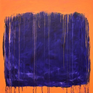 """Stephen Remick """"Tempest"""" Abstract Painting For Sale"""