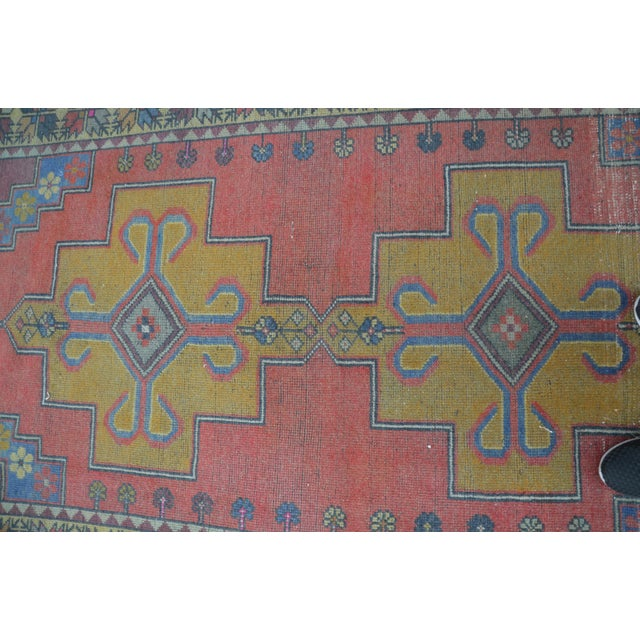 Turkish Handwoven Wool Rug - 4′7″ × 8′7″ - Image 5 of 6
