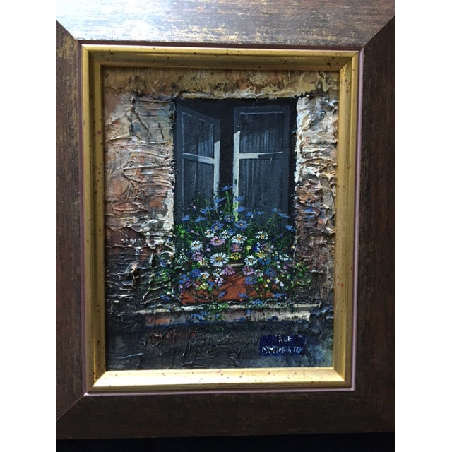 Paris Rue Montmartre Paintings - Pair - Image 4 of 4