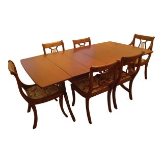 1930s Drexel Traditional Dining Room Set For Sale