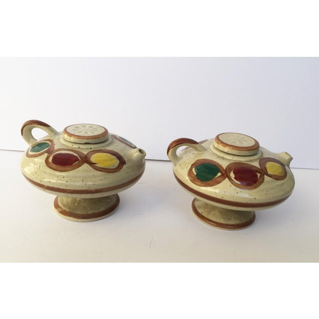 Vintage Japanese Sauce Containers - A Pair - Image 5 of 11