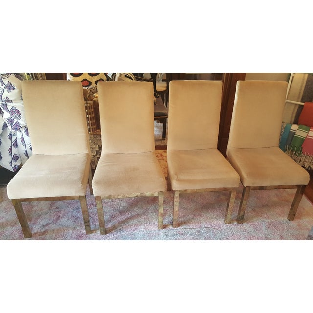 Contemporary Milo Baughman Dining Chairs - Set of 6 For Sale - Image 3 of 8