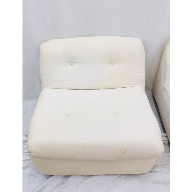 Vintage Contemporary Modern Slipper Chairs For Sale - Image 10 of 13