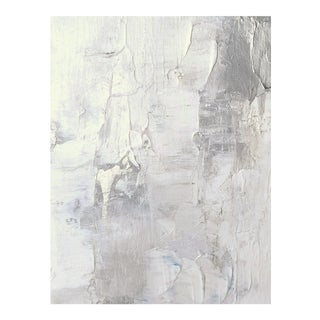Modern Abstract Impasto Original Art Painting White on White