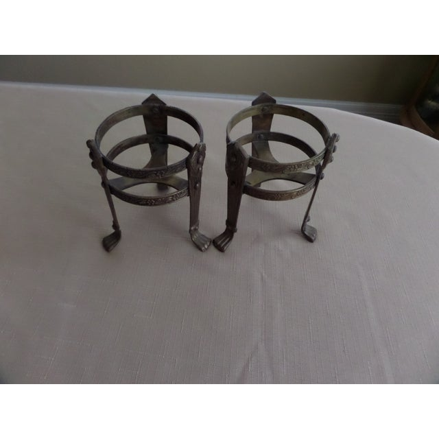 Vintage Solid Brass Candle Holders - A Pair - Image 8 of 8