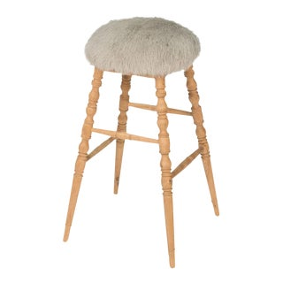 Sarreid Ltd Light Gray 'Winoma' Bar Stool