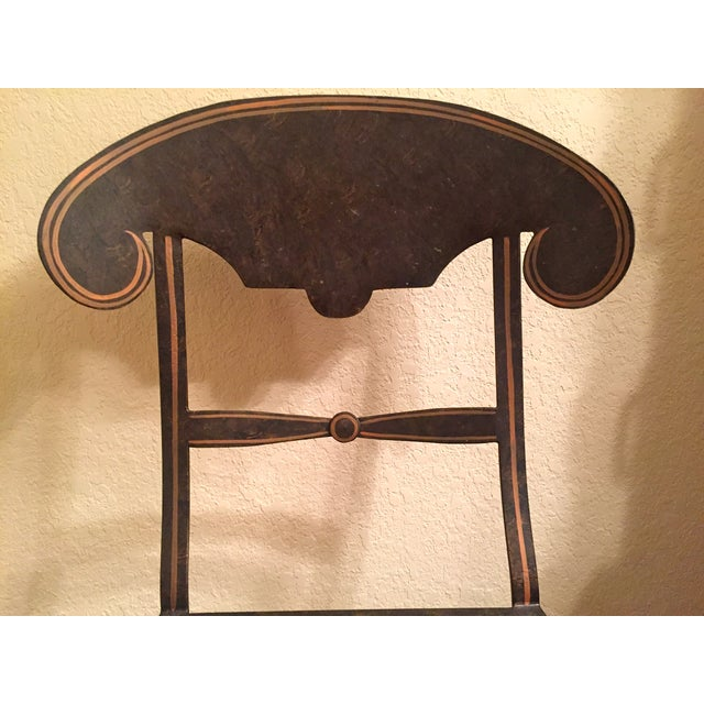 Designer Metal Accent Chair - Image 8 of 11