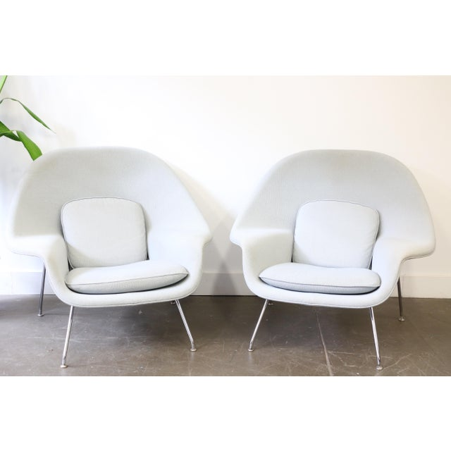 Pair of Knoll Womb Chairs by Eero Saarinen For Sale - Image 10 of 12