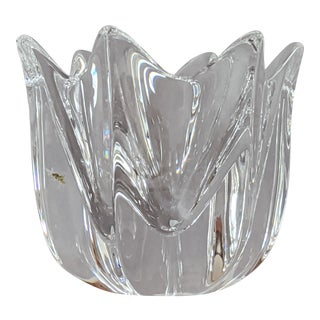 Orrefors Crystal Tulip Bowl For Sale