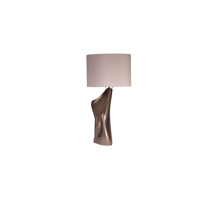 Amorph Helen Table Lamp - Metallic Dark Gold For Sale - Image 4 of 7