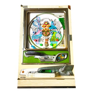 Vintage Mid Century Aguma Pachinko Arcade Game, Made in Japan by Sankyo For Sale
