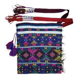 Peruvian Infant Carrier Textile For Sale