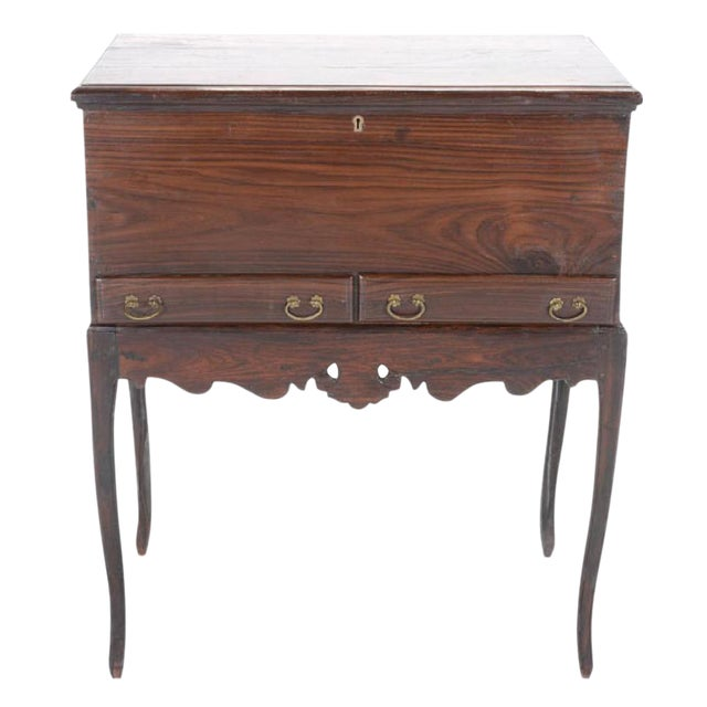 Rosewood Dutch Colonial Chest On Stand For Sale
