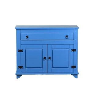Lisa 2 Door Blue Cabinet Sideboard