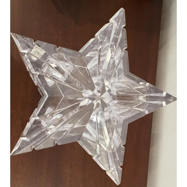Traditional 1970s Vintage Alessandro Albrizzi Lucite Star Ice Bucket For Sale - Image 3 of 11