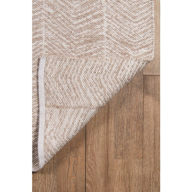 "2010s Erin Gates by Momeni Easton Congress Brown Indoor/Outdoor Hand Woven Area Rug - 3'6"" X 5'6"" For Sale - Image 5 of 8"