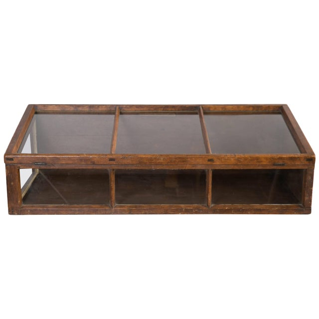 Antique Tabletop Store Display Cabinet For Sale - Image 10 of 10