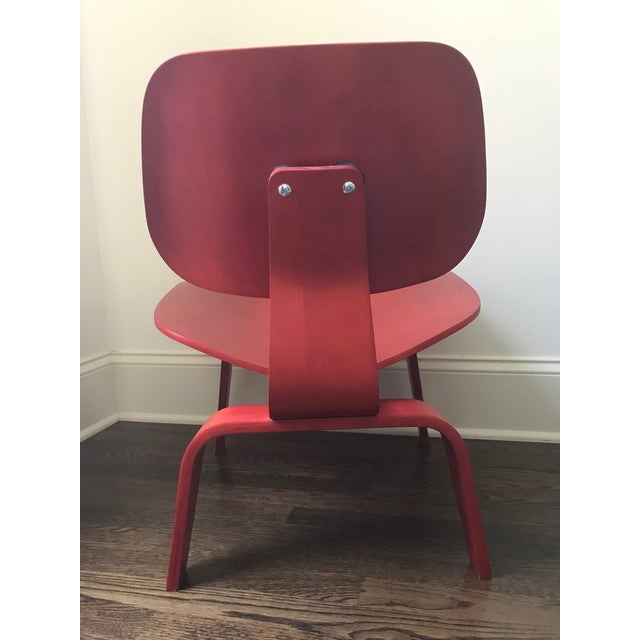Eames LCW Red Chair - Image 5 of 8