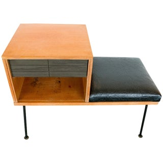 Raymond Loewy Bench Table, 1950 For Sale