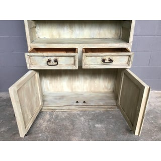 Rustic Farmhouse Painted Hutch Preview