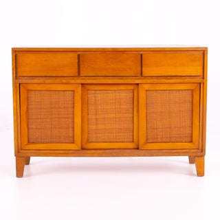 Mid Century Russel Wright for Conant Ball Blonde Sideboard Preview