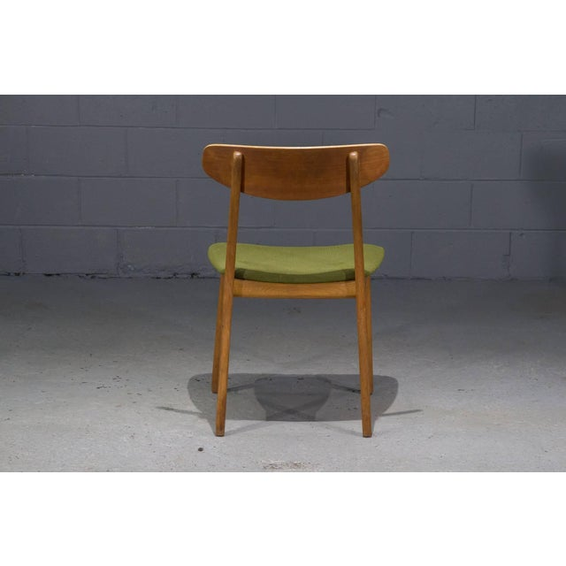 Mid-Century Modern Danish Modern Teak Dining Chairs- Set of 4 For Sale - Image 3 of 10