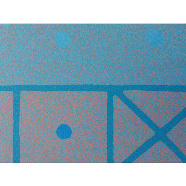 1973 Op-Art Silkscreen Signed Bay Area Artist For Sale - Image 9 of 10