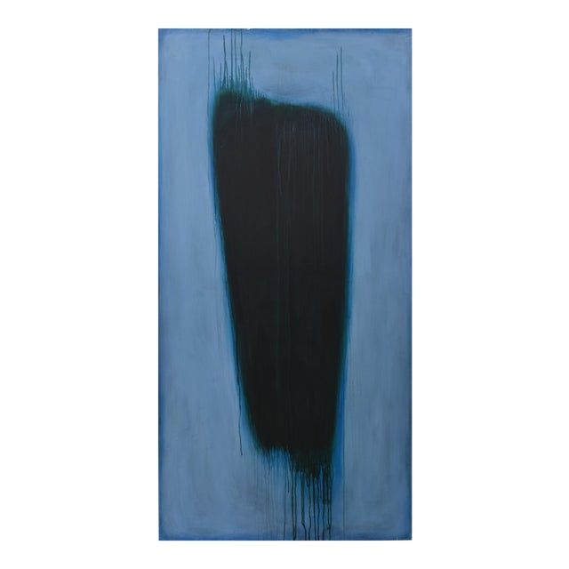 'Blue Torso' Abstract Painting - Image 1 of 11