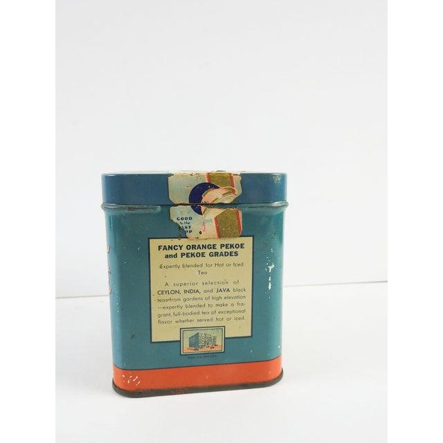 Vintage 1/2 Lb. Maxwell House Orange Pekoe Tea Tin - Image 5 of 8