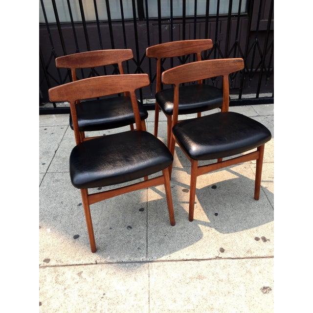 Bruno Hansen Danish Modern Chairs - Set of 4 - Image 7 of 9