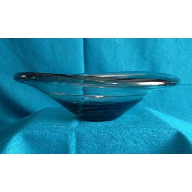 Per Lutken Danish 1962 Smoked Glass Bowl - Image 2 of 5