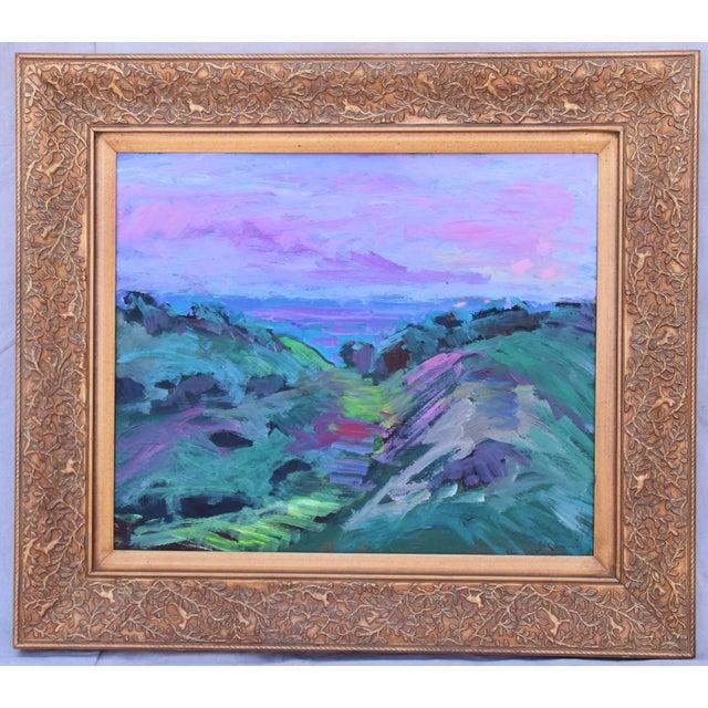 Juan Guzman, Santa Barbara Landscape Seascape Oil Painting For Sale - Image 10 of 10