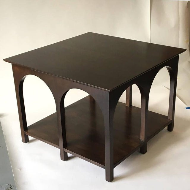 Mid-Century Modern Robsjohn-Gibbings Coliseum Tables - A Pair For Sale - Image 3 of 6