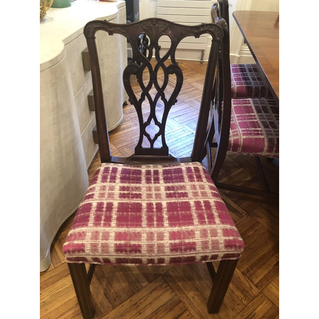 Late 19th Century Antique Chippendale Dining Chairs - Set of 10 For Sale - Image 5 of 12