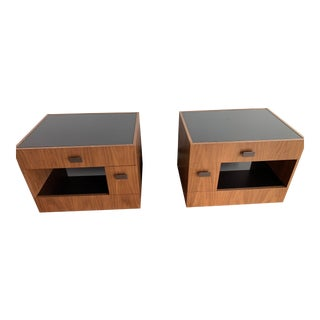 Giorgetti Bedside Tables - a Pair For Sale