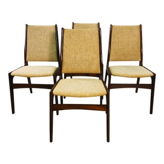 Danish Teak Johannes Anderson Dining Room Chairs - Set of 4 For Sale
