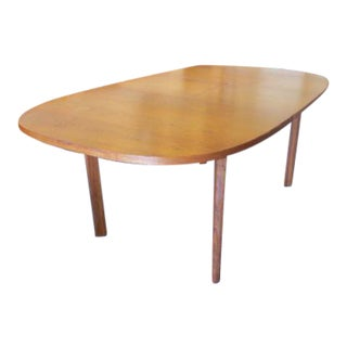 Teak Dining Table with Butterfly Leaf