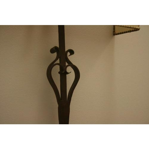18th Century 18th Century Iron Fragment Made Into Sconce For Sale - Image 5 of 6