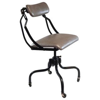 Early 20th Century Reminton-Rand Sitwel Industrial Chair For Sale